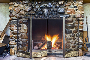 If you have a masonry fireplace