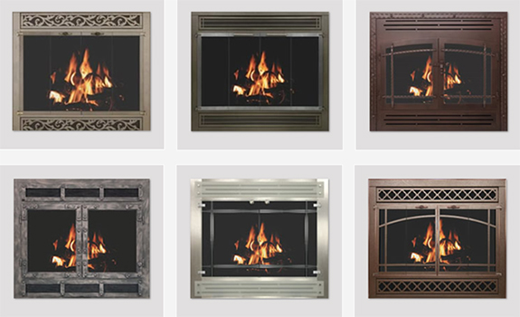 Fireplace Faces 6 ways to update your fireplace | doctor flue