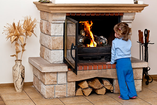 Childproofing a Fireplace to Protect Your Family & Home