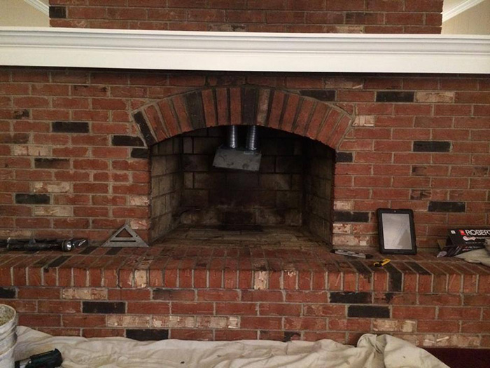 Before amp After Fireplace Gallery Michigan Ohio Doctor