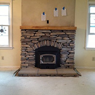 Fireplace, Picture After Installation