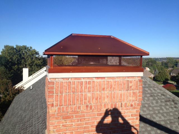 Gas Fireplace Chimney Caps : Chimney caps gallery michigan ohio doctor flue