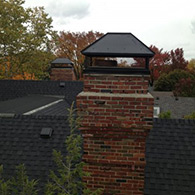 Large Chimney cap by Doctor Flue