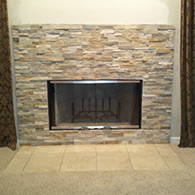 Fireplace Face Lift was chosen during the replacement