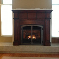 Direct vent gas fireplace by Doctor Flue