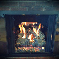 Real Fyre Gas logs sold and installed by Doctor Flue