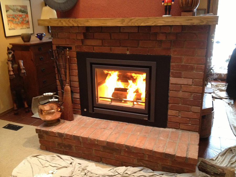 Installing Wood Stove In Currently Existing Wood Burning