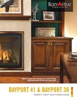 Bayport Direct Vent Gas Fireplace
