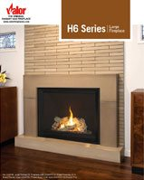 Valor / H6 Series Gas Fireplace