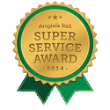 Angie's List Super Service Award - 2014