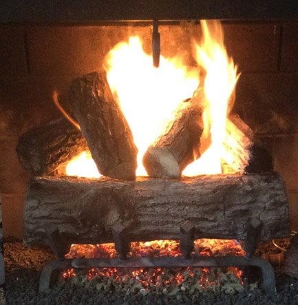 Gas fireplace service michigan ohio doctor flue a gas log fireplace that is now in in working order teraionfo