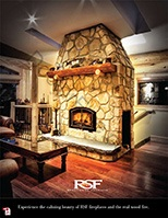 Wood Fireplace catalog.  RSF Fireplaces, a division of ICC:  The Technology Leaders!