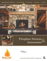 Stoll fireplace screens accessories