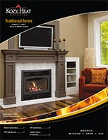 Traditional Direct Vent Gas Fireplaces