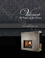 Fireplaces catalogue by Valcourt