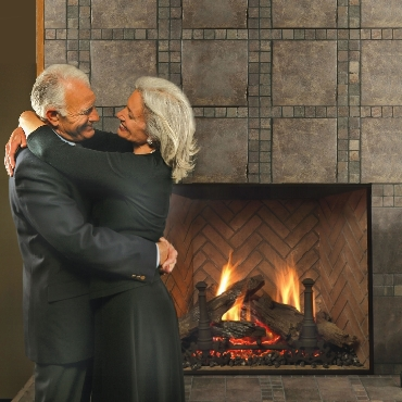 T Fireplace Installation