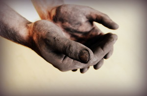Dirty Chimney Sweep Hands | Doctor Flue