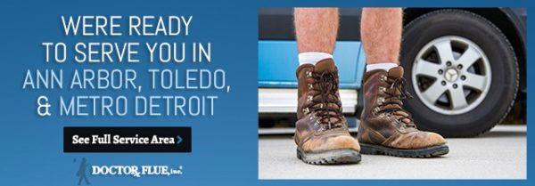We're ready to serve you in Ann Arbor, Toledo & Metro Detroit Info Graphic