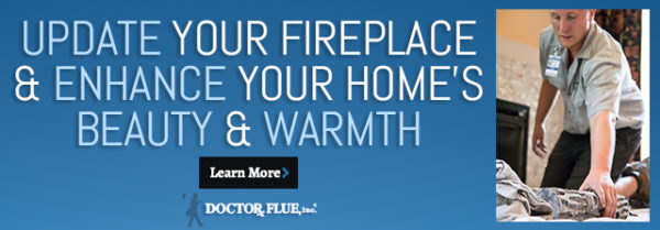 Update your fireplace & enhance your home's beauty and warmth infographic