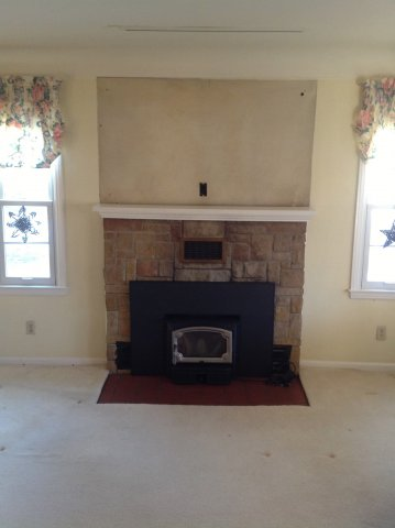 Before Amp After Fireplace Gallery Michigan Amp Ohio Doctor