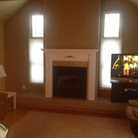 Fireplace Facelift, Picture Before Installation