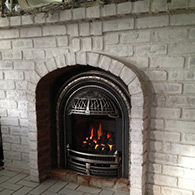 Wood Stove, Picture After Installation