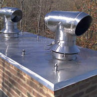 Custom Stainless steel specialty chimney caps