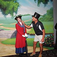 Doc of Doctor Flue with Mary Poppins