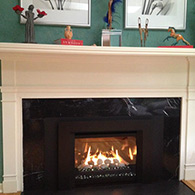 Finished Fireplace Facelift by Doctor Flue
