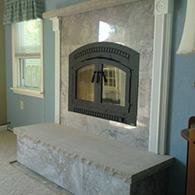 A Fireplace Extrordinair High efficiency wood burning fireplace