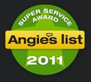 Angie's List Super Service Award - 2011