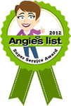 Angie's List Super Service Award - 2012